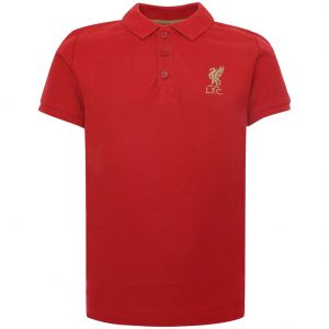 Liverpool FC Polo Shirt Junior Red 5/6