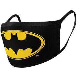 Batman 2pk Face Coverings Logo
