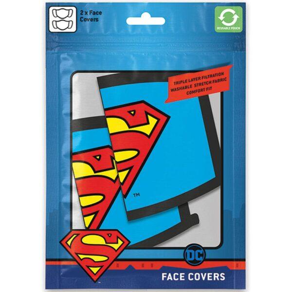 Superman 2pk Face Coverings
