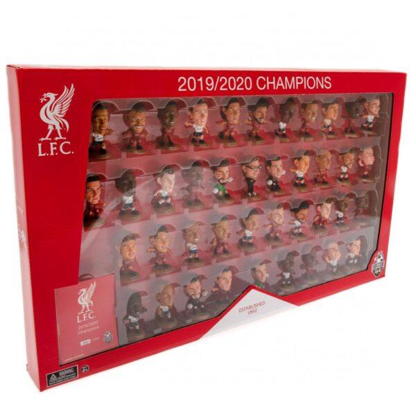 Liverpool FC SoccerStarz League Champions 41 Player Team Pack
