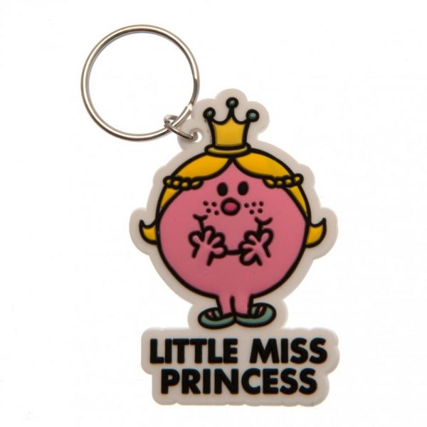Little Miss Princess PVC Keyring