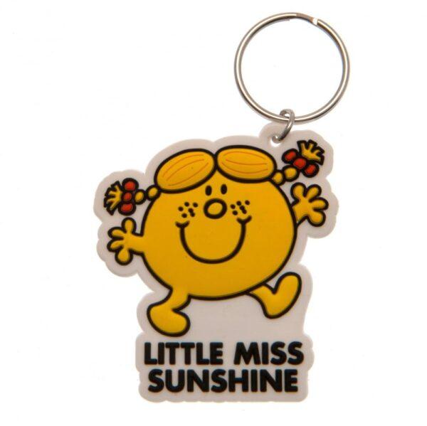 Little Miss Sunshine PVC Keyring