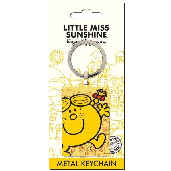 Little Miss Sunshine Metal Keyring
