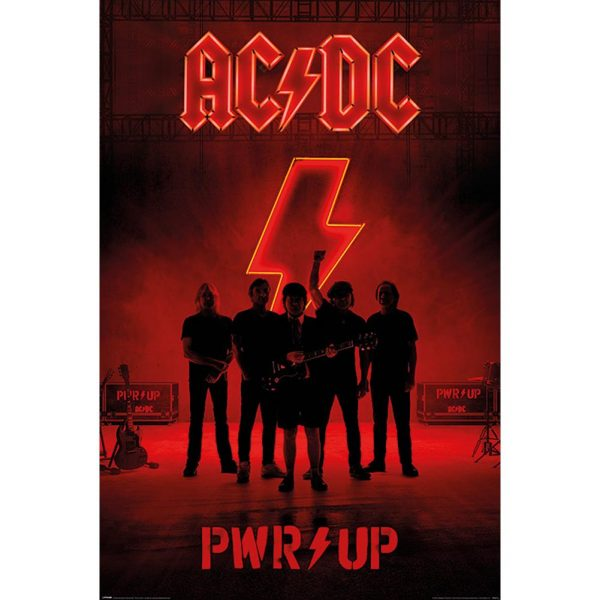 AC/DC Poster PWR UP 198