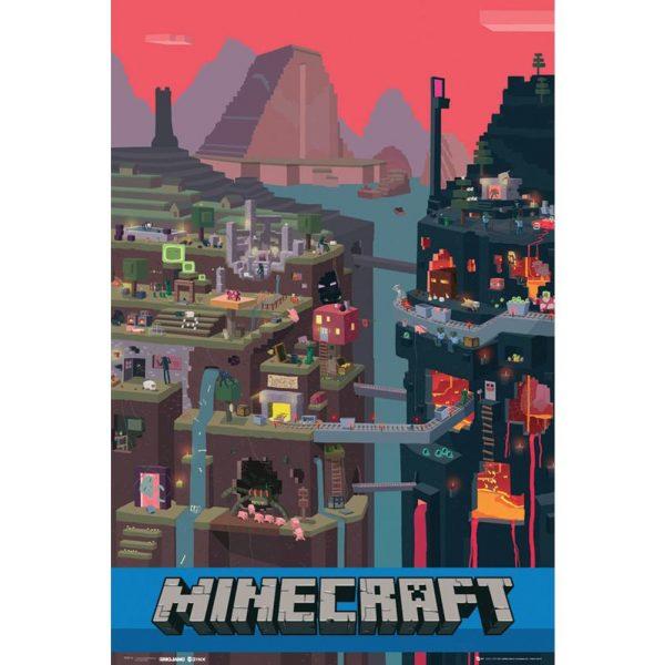 Minecraft Poster World 85