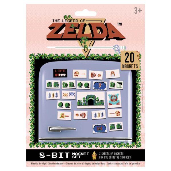 The Legend Of Zelda Fridge Magnet Set