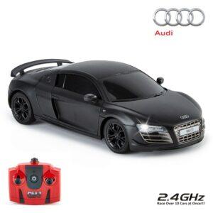 Audi R8 GT Radio Controlled Car 1:24 Scale Black