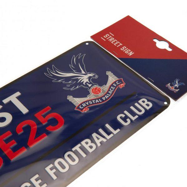 Crystal Palace FC Street Sign BL
