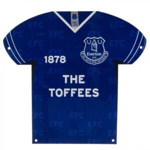 Everton FC Metal Shirt Sign