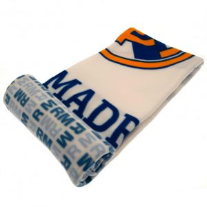 Real Madrid FC Fleece Blanket WT