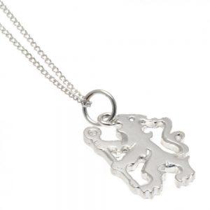 Chelsea FC Sterling Silver Pendant & Chain LN