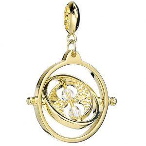 Harry Potter Gold Plated Swarovski Charm Time Turner