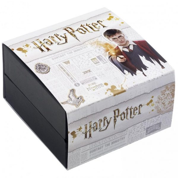 Harry Potter Gold Plated Swarovski Earrings Time Turner