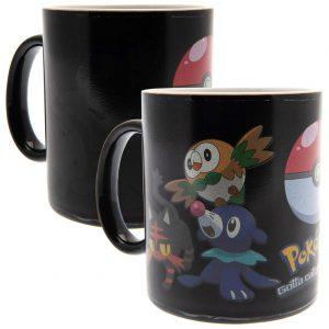 Pokemon Heat Changing Mug Catch Them All