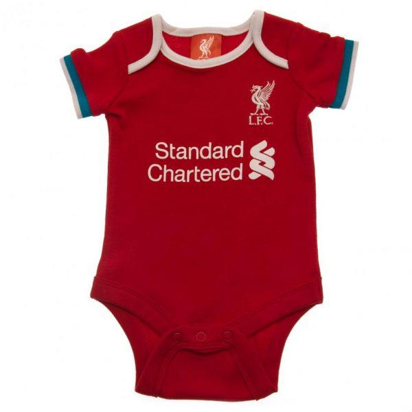 Liverpool FC 2 Pack Bodysuit 12/18 mths GR