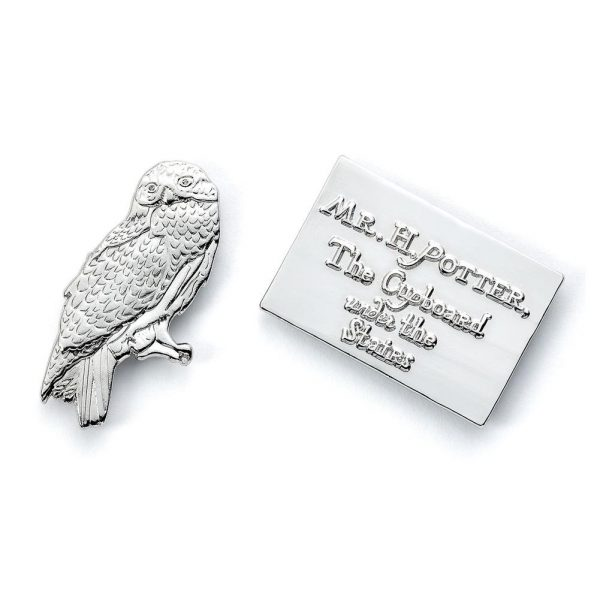 Harry Potter Badge Hedwig Owl & Letter