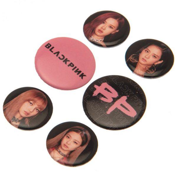 Blackpink Button Badge Set
