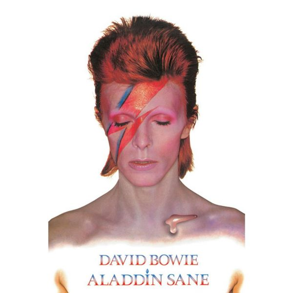 David Bowie Poster Aladdin Slane 269