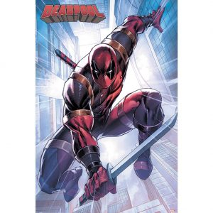 Deadpool Poster Action Pose 265