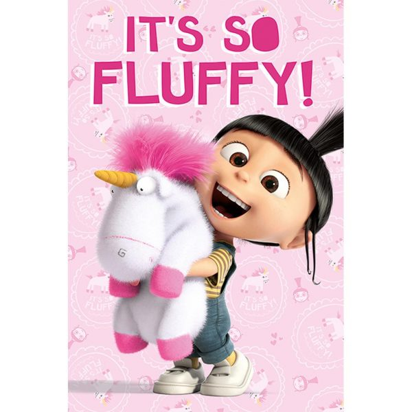 Despicable Me Poster Its So Fluffy 79