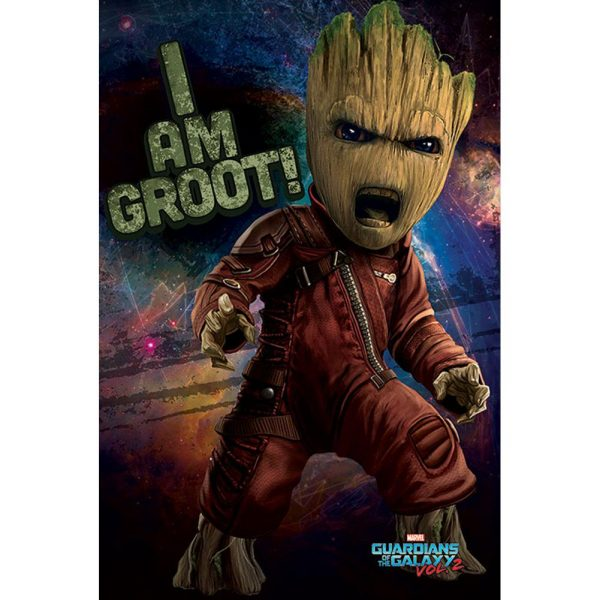 Guardians Of The Galaxy 2 Poster Angry Groot 78