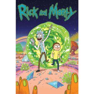 Rick And Morty Poster Portal 71