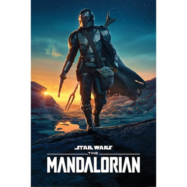 Star Wars: The Mandalorian Poster Nightfall 282