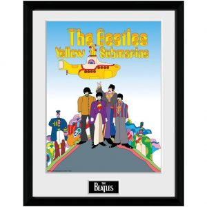 The Beatles Picture Yellow Submarine 16 x 12
