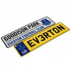 Everton FC Window & Fridge Sign Set