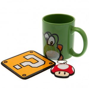 Super Mario Mug & Coaster Set