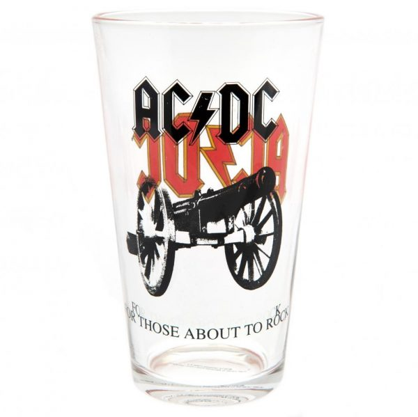 AC/DC Large Glass