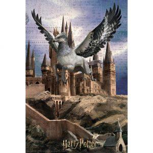 Harry Potter 3D Image Puzzle 300pc Buckbeak