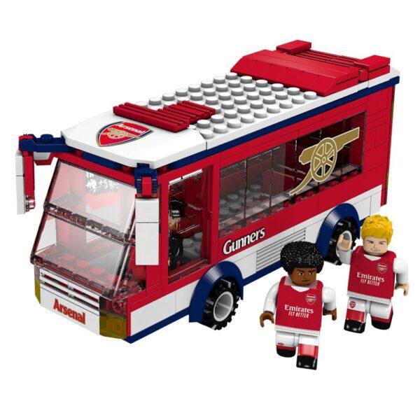 Arsenal FC Brick Team Bus