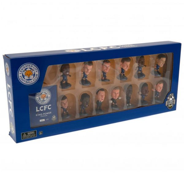 Leicester City SoccerStarz 13 Player Team Pack