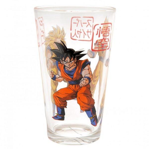 Dragon Ball Z Large Glass