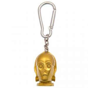 Star Wars 3D Polyresin Keyring C-3PO