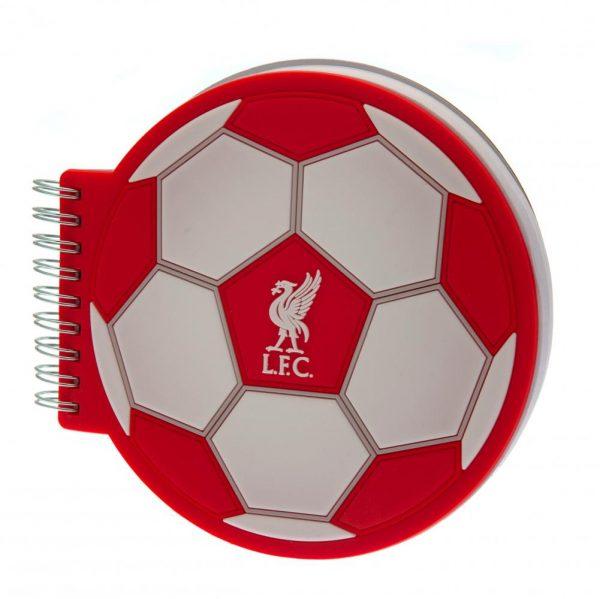 Liverpool FC 3D Football Notebook