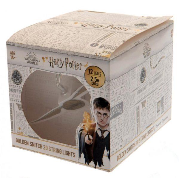 Harry Potter 2D String Lights Golden Snitch