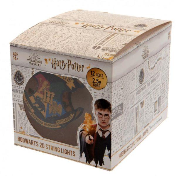Harry Potter 2D String Lights Hogwarts