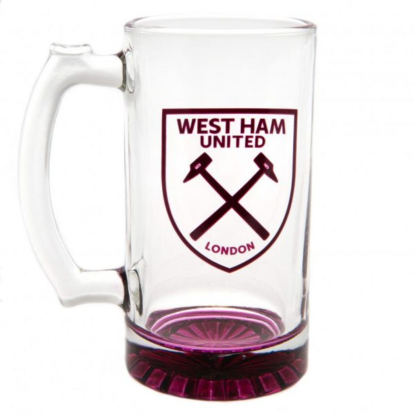 West Ham United FC Stein Glass Tankard CC