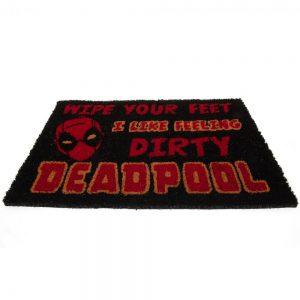Deadpool Doormat Wipe Your Feet
