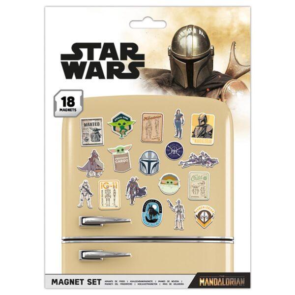 Star Wars: The Mandalorian Fridge Magnet Set
