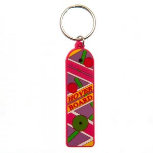Back To The Future PVC Keyring Hoverboard