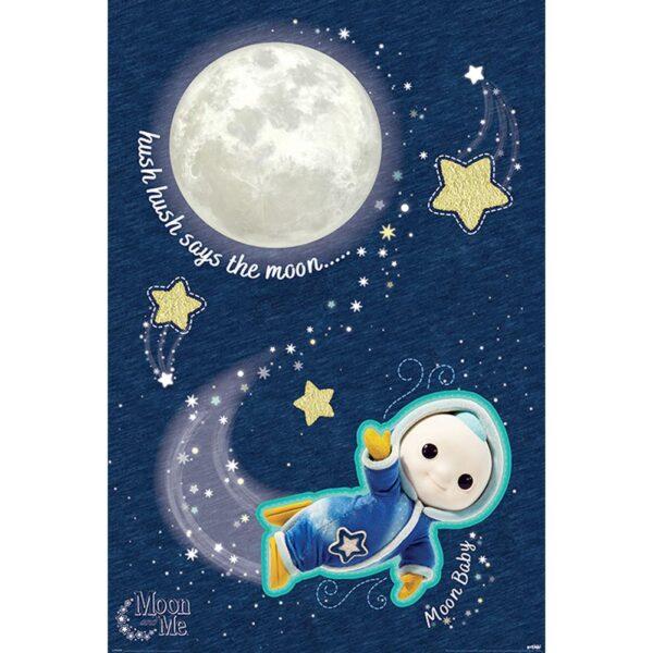 Moon And Me Poster Hush Hush 106
