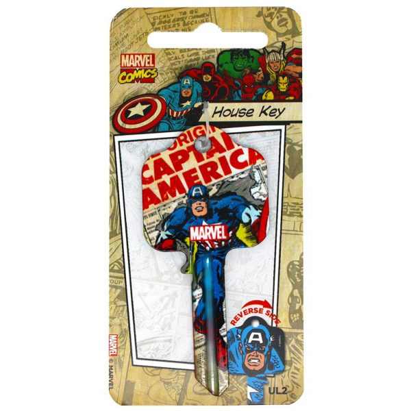 Marvel Comics Door Key Captain America