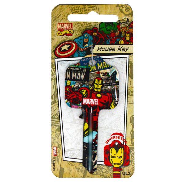 Marvel Comics Door Key Iron Man