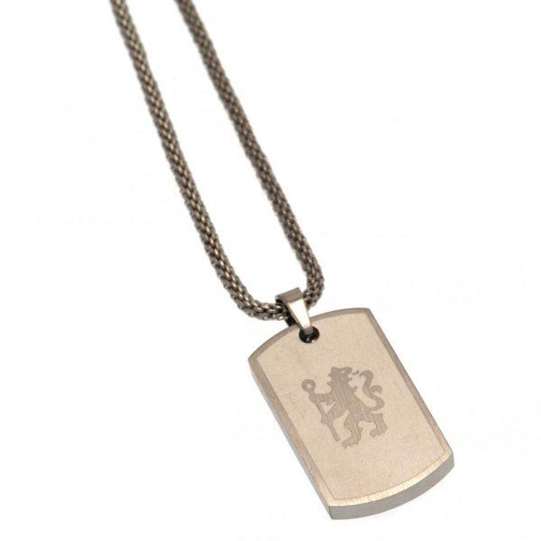 Chelsea FC Icon Dog Tag & Chain
