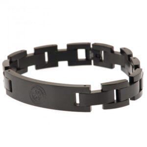 Celtic FC Black IP Bracelet