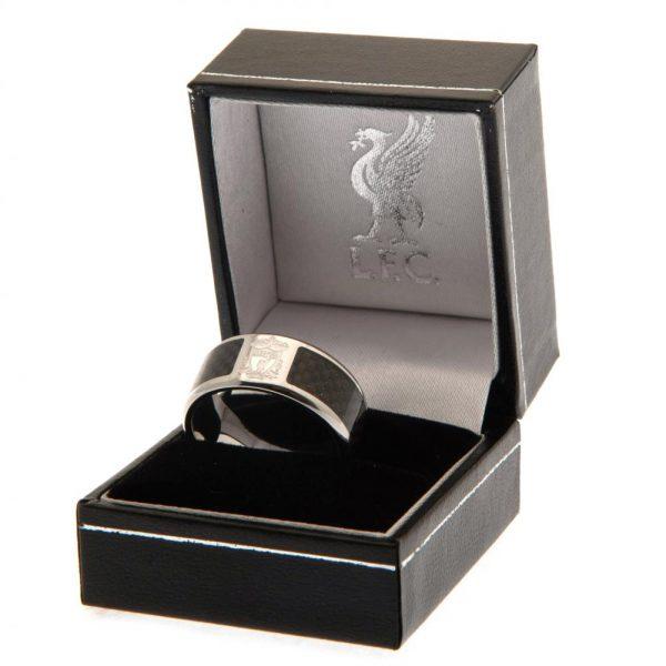 Liverpool FC Carbon Fibre Ring Small