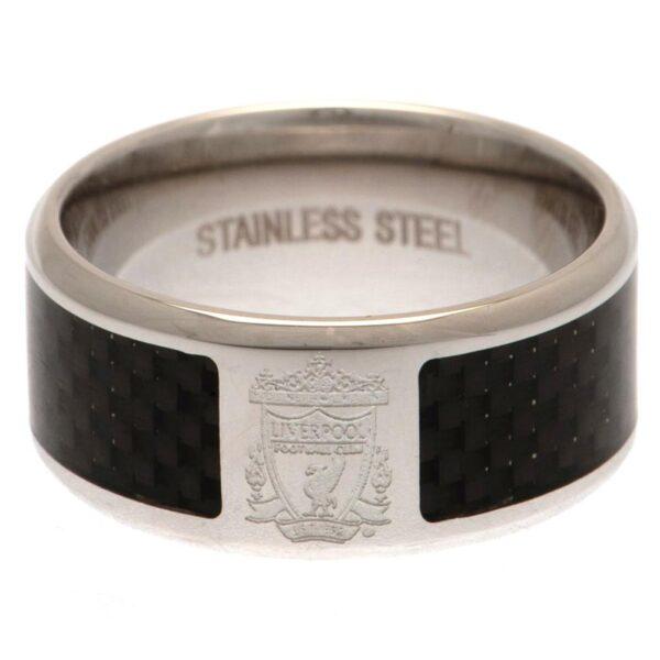 Liverpool FC Carbon Fibre Ring Medium